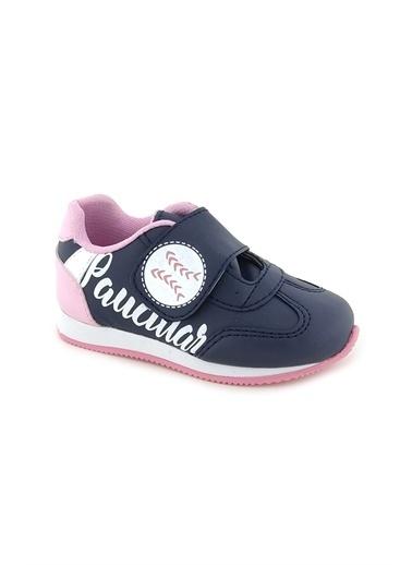 Necix's Funny Bebek Cırtcıtlı Spor Ayakkabı-Siyah-Fusya Funny Bebek Cırtcıtlı Spor Ayakkabı-Siyah-Fusya Renkli